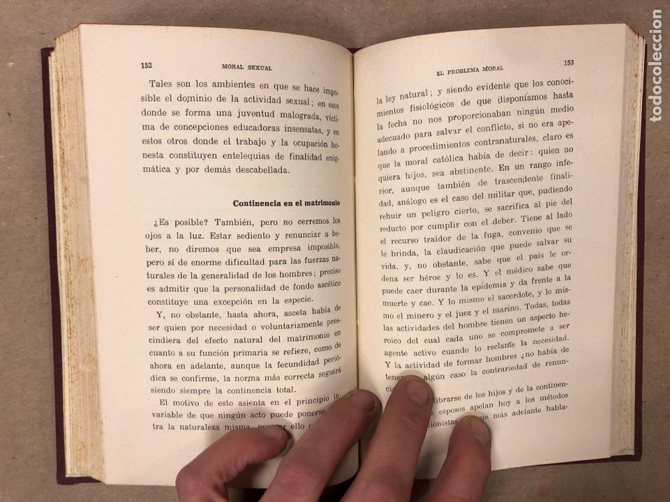 Libros antiguos: OGINOISMO, LIMITACIÓN MORAL DE LA NATALIDAD. J. BERMÚDEZ BERNARDO. SUCESORES DE JUAN GILI 1936 - Foto 5 - 182129942