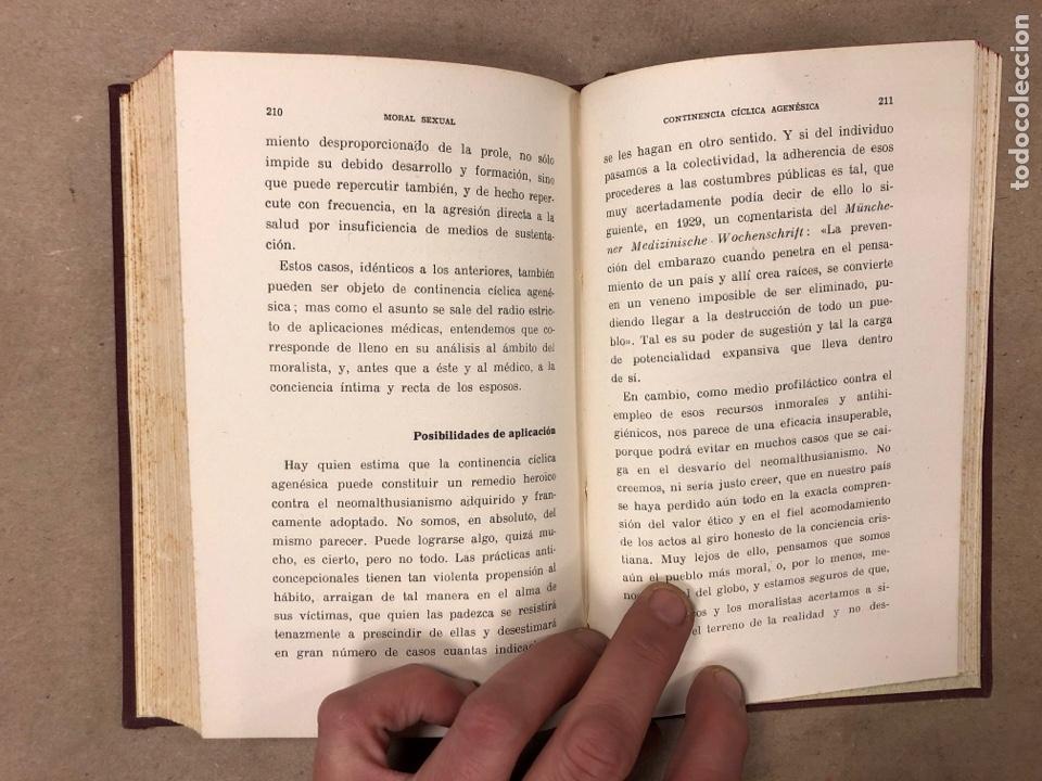 Libros antiguos: OGINOISMO, LIMITACIÓN MORAL DE LA NATALIDAD. J. BERMÚDEZ BERNARDO. SUCESORES DE JUAN GILI 1936 - Foto 6 - 182129942