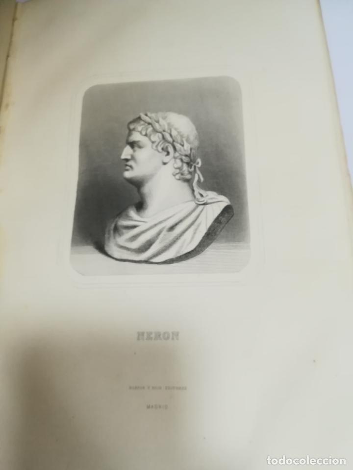 Libros antiguos: HISTORIA UNIVERSAL. CESAR CANTU. 10 TOMOS. 1854 - 1859. ILUSTRADO. IMPRENTA GASPAR Y ROIG. LEER - Foto 3 - 182149341