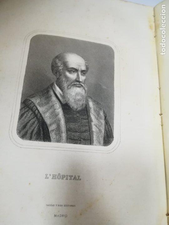 Libros antiguos: HISTORIA UNIVERSAL. CESAR CANTU. 10 TOMOS. 1854 - 1859. ILUSTRADO. IMPRENTA GASPAR Y ROIG. LEER - Foto 5 - 182149341