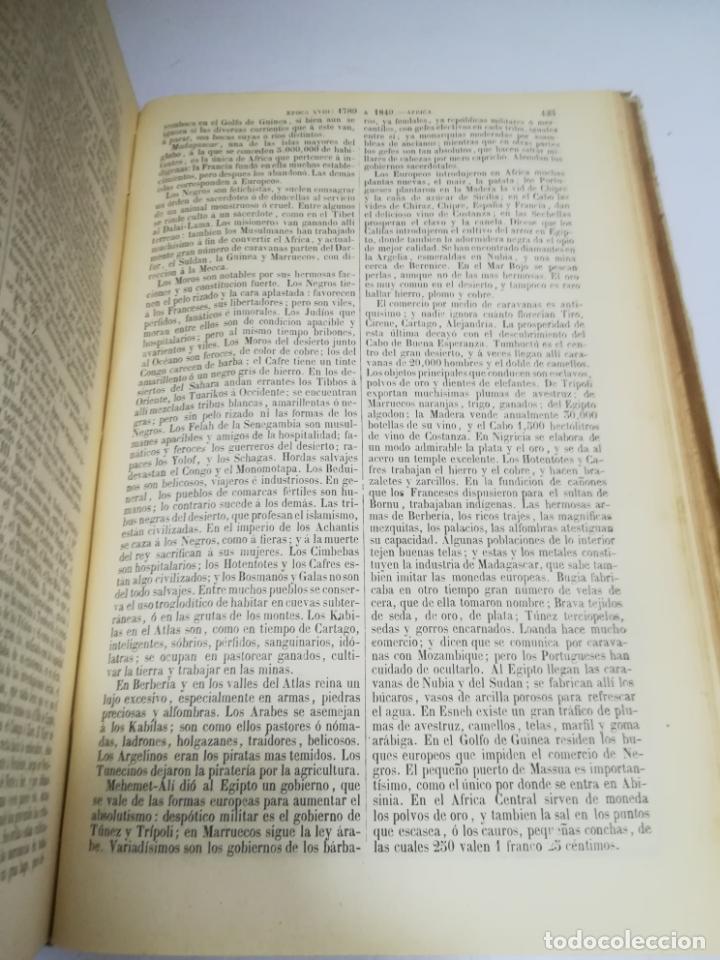 Libros antiguos: HISTORIA UNIVERSAL. CESAR CANTU. 10 TOMOS. 1854 - 1859. ILUSTRADO. IMPRENTA GASPAR Y ROIG. LEER - Foto 28 - 182149341