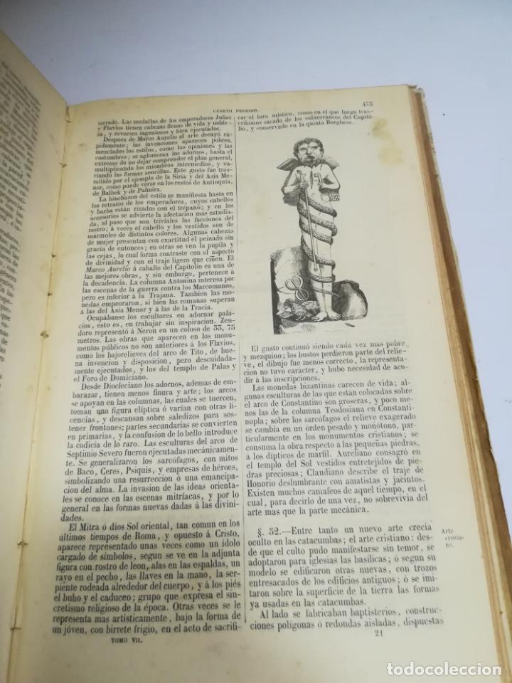 Libros antiguos: HISTORIA UNIVERSAL. CESAR CANTU. 10 TOMOS. 1854 - 1859. ILUSTRADO. IMPRENTA GASPAR Y ROIG. LEER - Foto 29 - 182149341