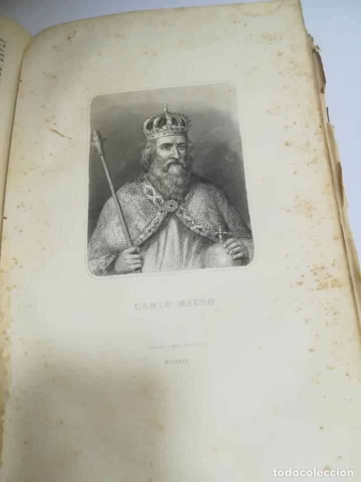 Libros antiguos: HISTORIA UNIVERSAL. CESAR CANTU. 10 TOMOS. 1854 - 1859. ILUSTRADO. IMPRENTA GASPAR Y ROIG. LEER - Foto 34 - 182149341