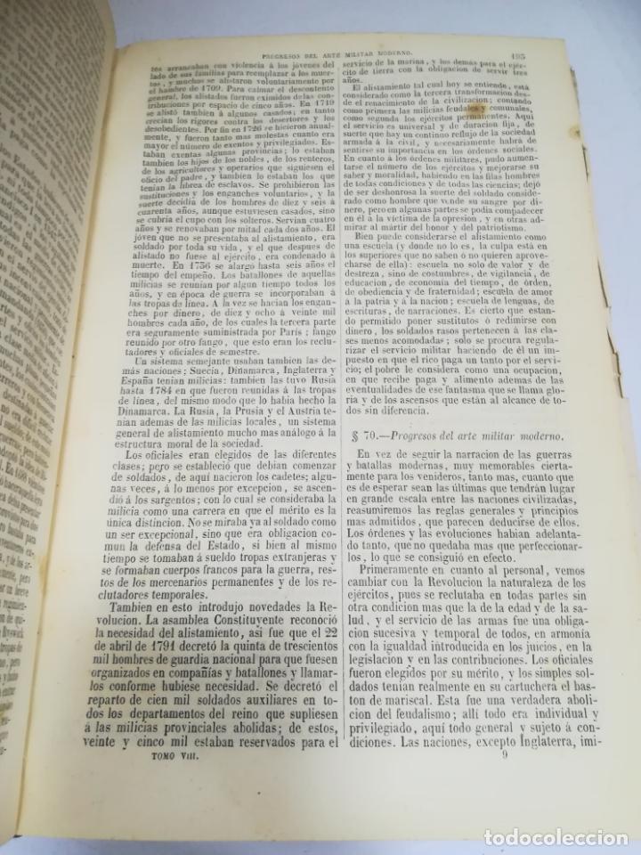 Libros antiguos: HISTORIA UNIVERSAL. CESAR CANTU. 10 TOMOS. 1854 - 1859. ILUSTRADO. IMPRENTA GASPAR Y ROIG. LEER - Foto 50 - 182149341