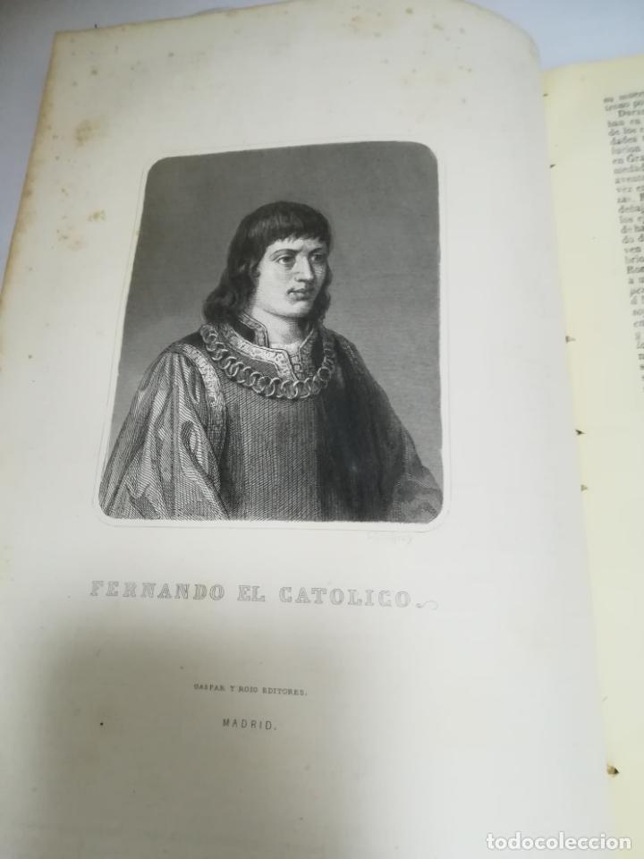 Libros antiguos: HISTORIA UNIVERSAL. CESAR CANTU. 10 TOMOS. 1854 - 1859. ILUSTRADO. IMPRENTA GASPAR Y ROIG. LEER - Foto 54 - 182149341