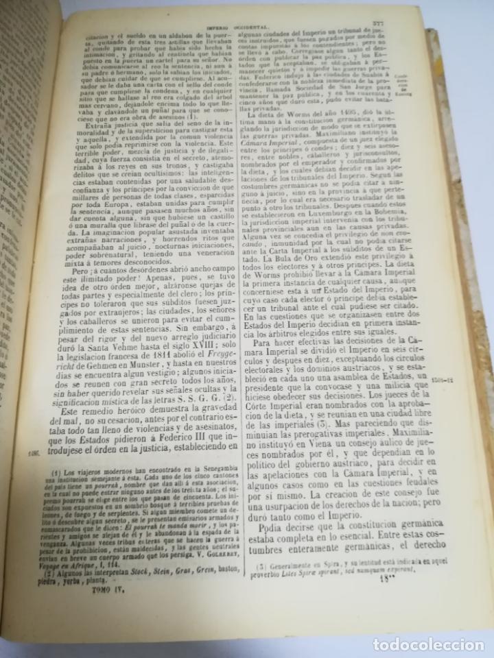 Libros antiguos: HISTORIA UNIVERSAL. CESAR CANTU. 10 TOMOS. 1854 - 1859. ILUSTRADO. IMPRENTA GASPAR Y ROIG. LEER - Foto 57 - 182149341