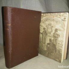 Libros antiguos: HISTORIA DE LES ESQUADRES DE CATALUNYA - AÑO 1921 - J.ORTEGA - GRABADOS.. Lote 182208455
