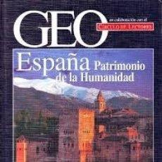 Libros antiguos: ESPAÑA PATRIMONIO DE LA HUMANIDAD. Lote 182228247
