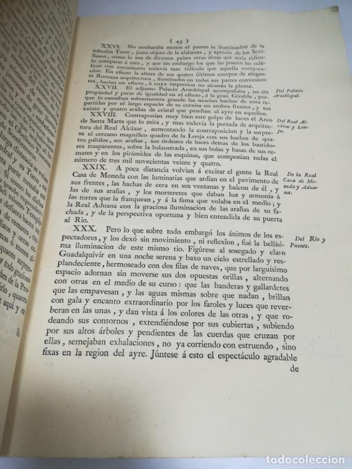 Libros antiguos: PROCLAMACION DE CARLOS IIII Y CELEBRACION EN SEVILLA. MANUEL GIL. 1790. IMP. VDA JOACHIN IBARRA. VER - Foto 4 - 182241573