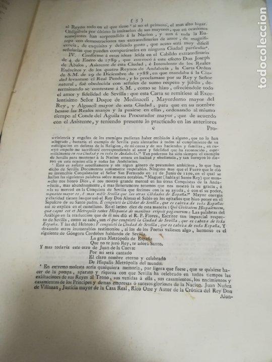 Libros antiguos: PROCLAMACION DE CARLOS IIII Y CELEBRACION EN SEVILLA. MANUEL GIL. 1790. IMP. VDA JOACHIN IBARRA. VER - Foto 7 - 182241573