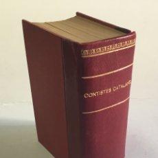 Libros antiguos: SELECTA DE CONTISTES CATALANS.. Lote 182261496