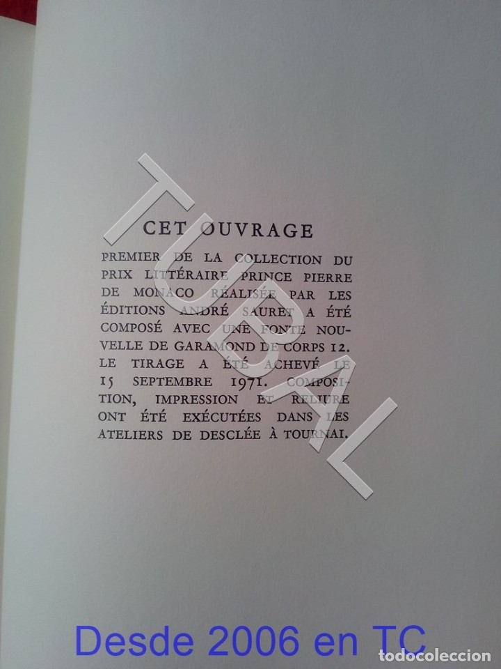 Libros antiguos: TUBAL BIBLIOFILIA SUPERLIBRIS ESCUDO MONACO EN PLANO JULIEN GREEN MOIRA ENVIO 4,5 € € 2019 U1 - Foto 11 - 182285583