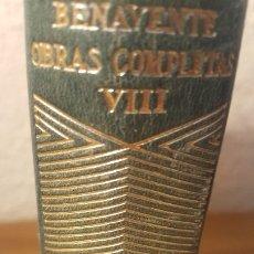 Libros antiguos: AUT,- J. BENAVENTE, OBRAS COMPLETAS, EDT AGUILAR, JOYA,JMOLINA1946. Lote 182297076