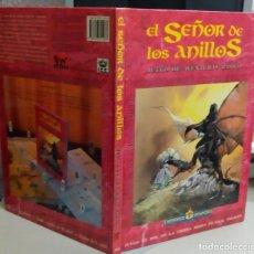Libros antiguos: EL SEÑOR DE LOS ANILLOS, JUEGO DE AVENTURAS BASICO, JOC INTERNACIONAL, L11904. Lote 182298728