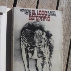 Libros antiguos: EL LOBO ESTEPARIO, HERMAN HESS,. Lote 182378357