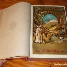 Libros antiguos: LA TIERRA SANTA O PALESTINA. ESTUDIO HISTÓRICO DE LA MISMA Y SUS MONUMENTOS. ANTONIO LLOR. 1896. Lote 182381695