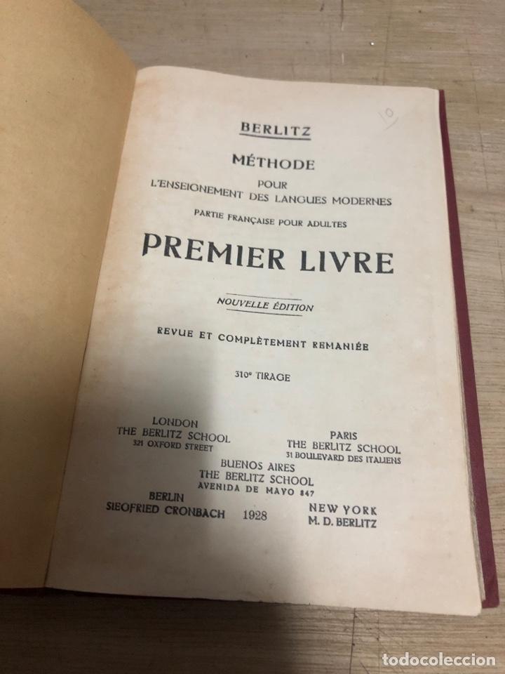 Libros antiguos: Methode pour l enseignement des langues modernes - Foto 2 - 182382548