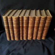 Libros antiguos: HISTORIA UNIVERSAL ESCRITA POR CESAR CANTU - 9 TOMOS - JAIME SEIX EDITOR 1883/85. Lote 182445166