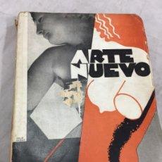 Libros antiguos: ARTE NUEVO COSSIO DEL POMAR 1ª EDICIÓN 1934 EJEMPLAR NUMERADO 0809 EDIT. LA FACULTAD BUENOS AIRES. Lote 182452741