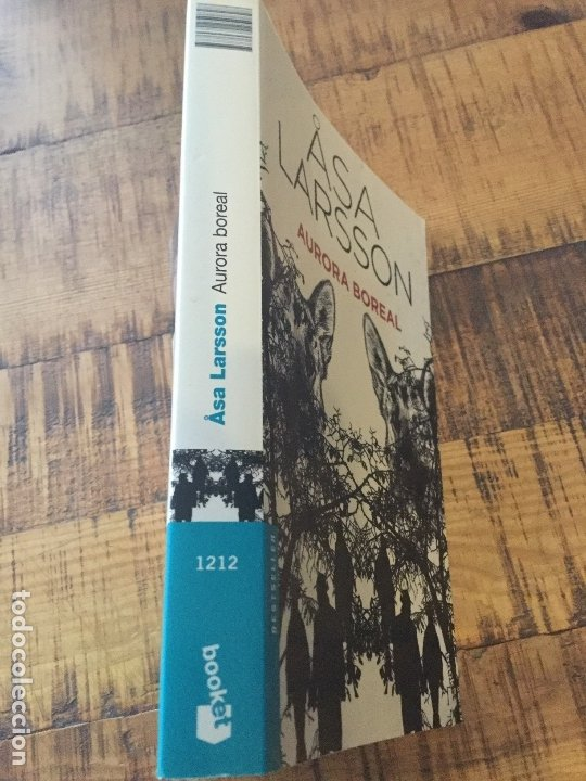 Libros antiguos: ASA LARSSON - AURORA BOREAL- BESTSELLER - BOOKET - Foto 6 - 182492936