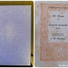 Libros antiguos: EL SECRETO DEL MARIDO. M. MARYAN. ED. RIVADENEYRA. MADRID, 1925. PAGS: 340. Lote 182516641