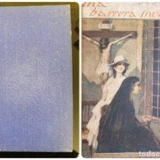 Libros antiguos: UNA BARRERA INVISIBLE. M. MARYAN. ED. MODA ELEGANTE. MADRID, 1921. PAGS: 305. Lote 182517191
