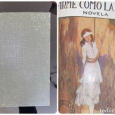 Libros antiguos: FIRME COMO LA ROCA. JEANNE DE COULOMB. COLECCION CELESTE. ED. EVA. MADRID, 1922. PAGS: 330. Lote 182520513