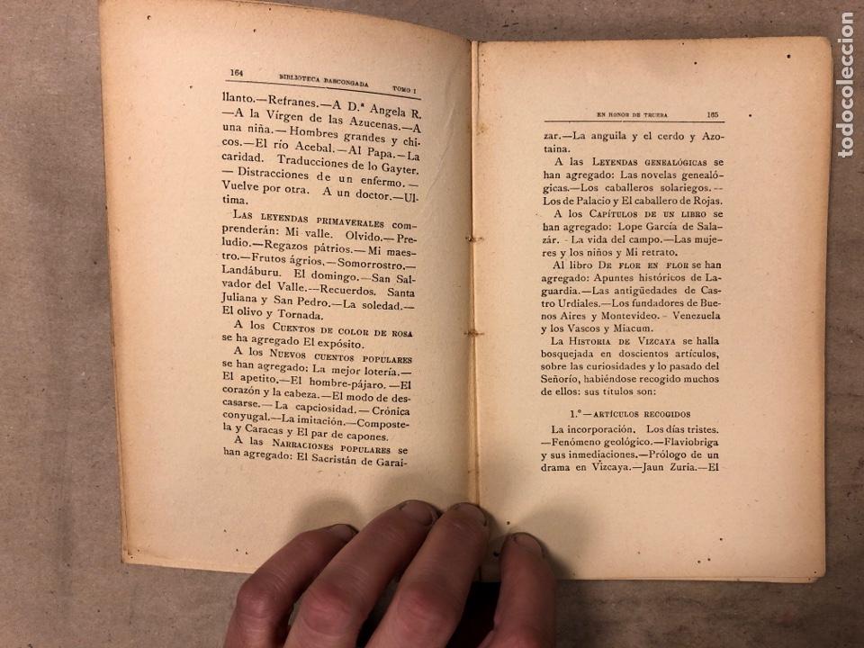 Libros antiguos: EN HONOR DE TRUEBA. VV.AA. BIBLIOTECA BASCONGADA TOMO I. 1896 (BILBAO). 211 PÁGINAS - Foto 7 - 182548241