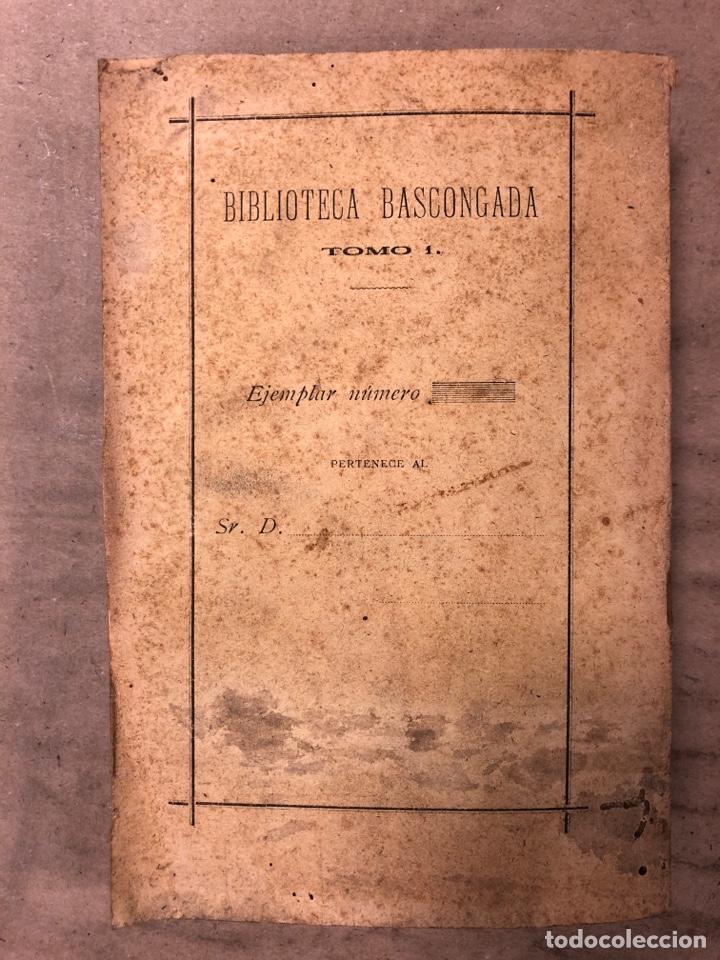 Libros antiguos: EN HONOR DE TRUEBA. VV.AA. BIBLIOTECA BASCONGADA TOMO I. 1896 (BILBAO). 211 PÁGINAS - Foto 11 - 182548241