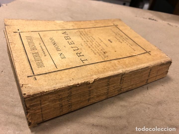 Libros antiguos: EN HONOR DE TRUEBA. VV.AA. BIBLIOTECA BASCONGADA TOMO I. 1896 (BILBAO). 211 PÁGINAS - Foto 12 - 182548241
