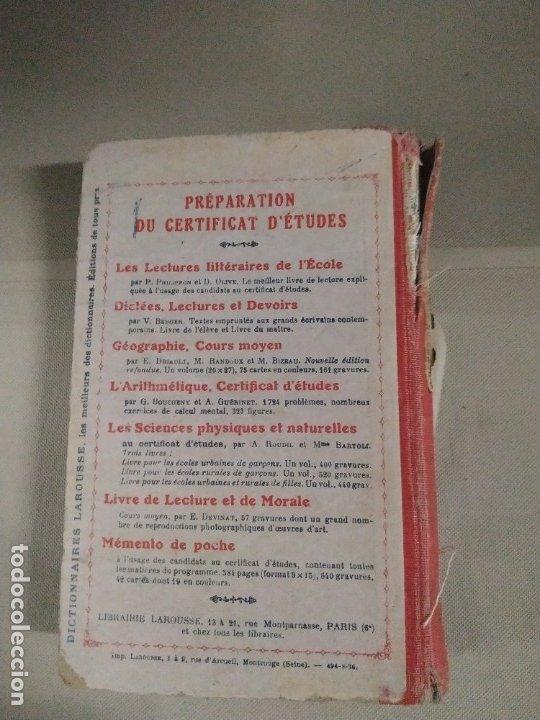 Libros antiguos: Grammaire Cours Moyen - Calude Augé - Foto 2 - 182559236