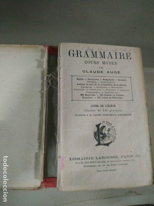 Libros antiguos: Grammaire Cours Moyen - Calude Augé - Foto 4 - 182559236