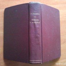 Libros antiguos: 1887 ESBOZOS Y RASGUÑOS - PEREDA. Lote 182596206