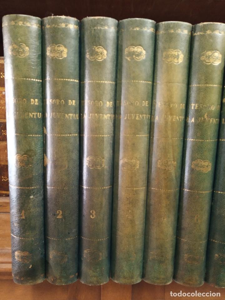 Libros antiguos: Colección Tesoro de la juventud. 17 tomos. Walter Jackson, Editor. Madrid. Suc. de Rivadeneyra. - Foto 2 - 182605790