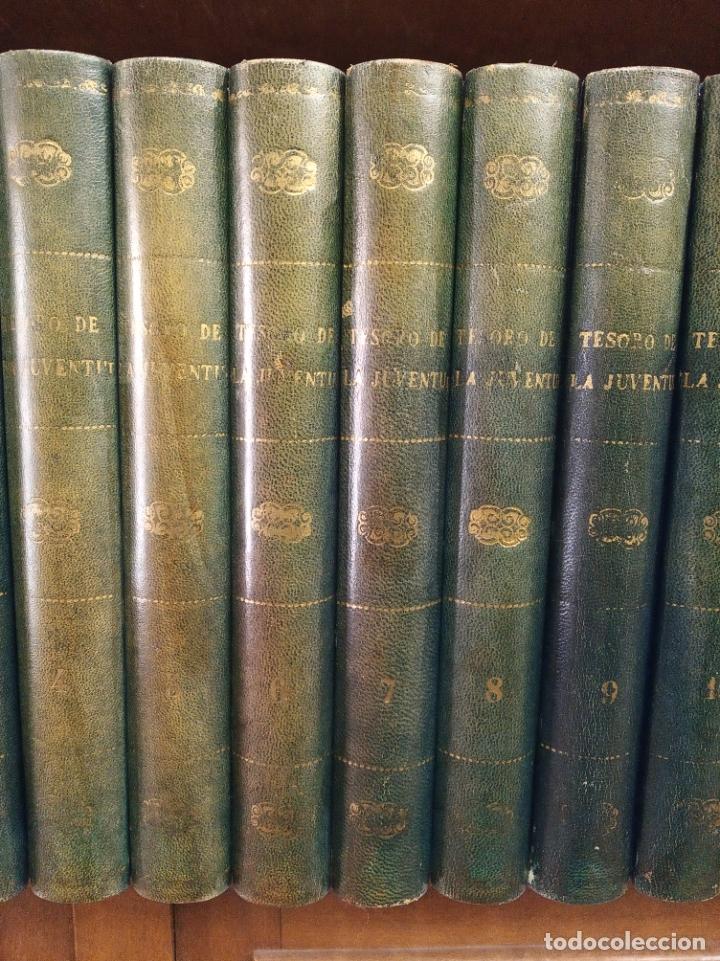 Libros antiguos: Colección Tesoro de la juventud. 17 tomos. Walter Jackson, Editor. Madrid. Suc. de Rivadeneyra. - Foto 3 - 182605790