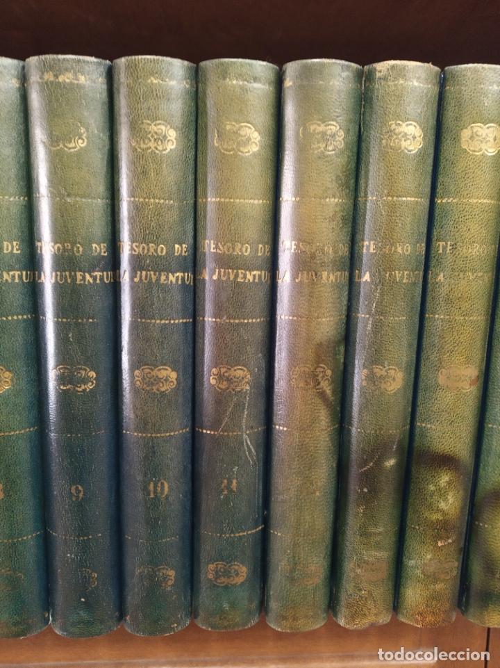 Libros antiguos: Colección Tesoro de la juventud. 17 tomos. Walter Jackson, Editor. Madrid. Suc. de Rivadeneyra. - Foto 4 - 182605790