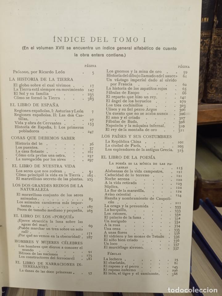 Libros antiguos: Colección Tesoro de la juventud. 17 tomos. Walter Jackson, Editor. Madrid. Suc. de Rivadeneyra. - Foto 8 - 182605790