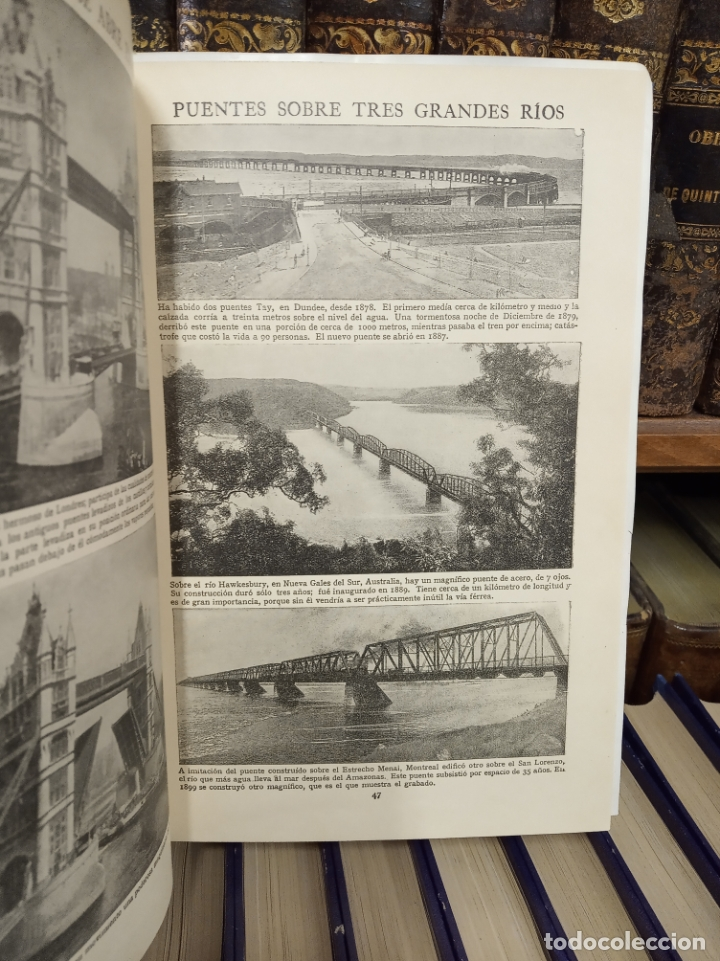 Libros antiguos: Colección Tesoro de la juventud. 17 tomos. Walter Jackson, Editor. Madrid. Suc. de Rivadeneyra. - Foto 12 - 182605790