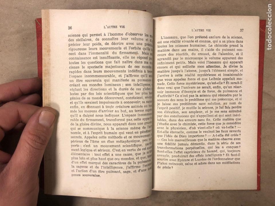 Libros antiguos: L'AUTRE VIE. MGR ÉLIE MÉRIC. P. TÉQUI, LIBRAIRE ÈDITEUR 1912. TOME PREMIER. 337 PÁGINAS. FRANCÉS - Foto 5 - 182630262