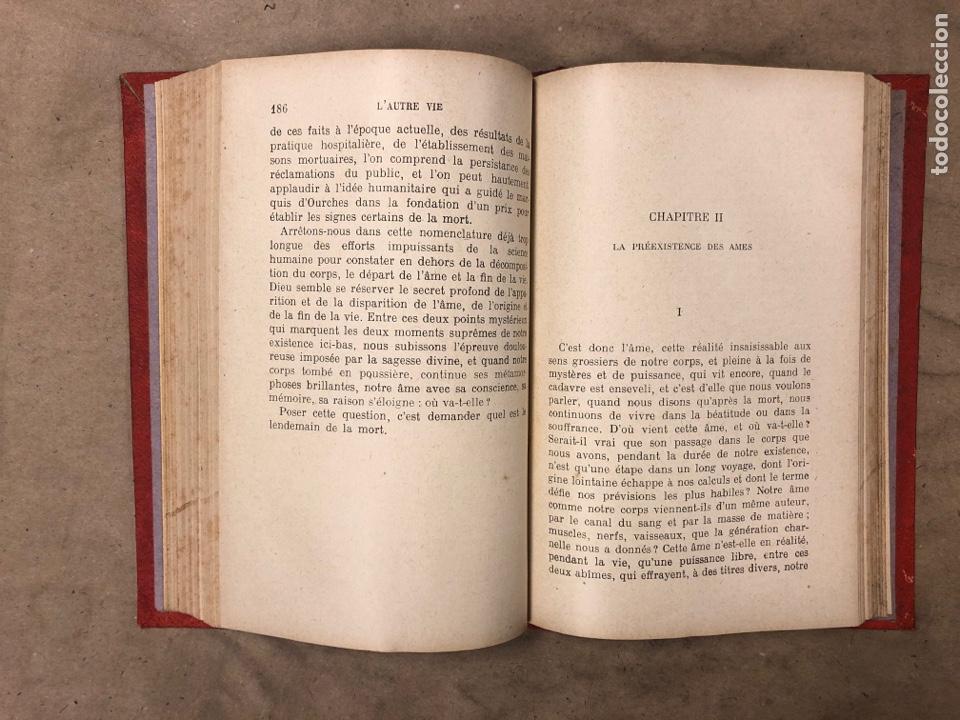 Libros antiguos: L'AUTRE VIE. MGR ÉLIE MÉRIC. P. TÉQUI, LIBRAIRE ÈDITEUR 1912. TOME PREMIER. 337 PÁGINAS. FRANCÉS - Foto 8 - 182630262