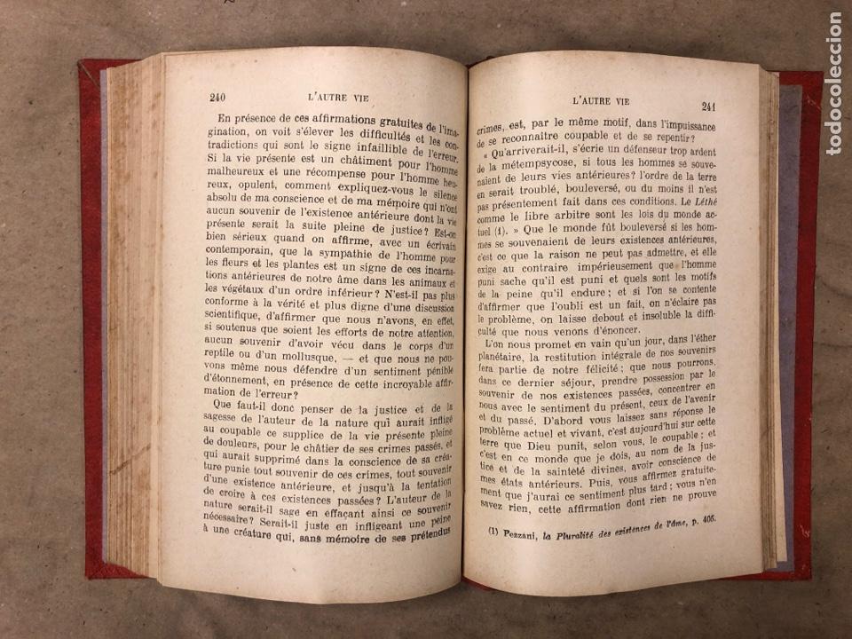 Libros antiguos: L'AUTRE VIE. MGR ÉLIE MÉRIC. P. TÉQUI, LIBRAIRE ÈDITEUR 1912. TOME PREMIER. 337 PÁGINAS. FRANCÉS - Foto 9 - 182630262