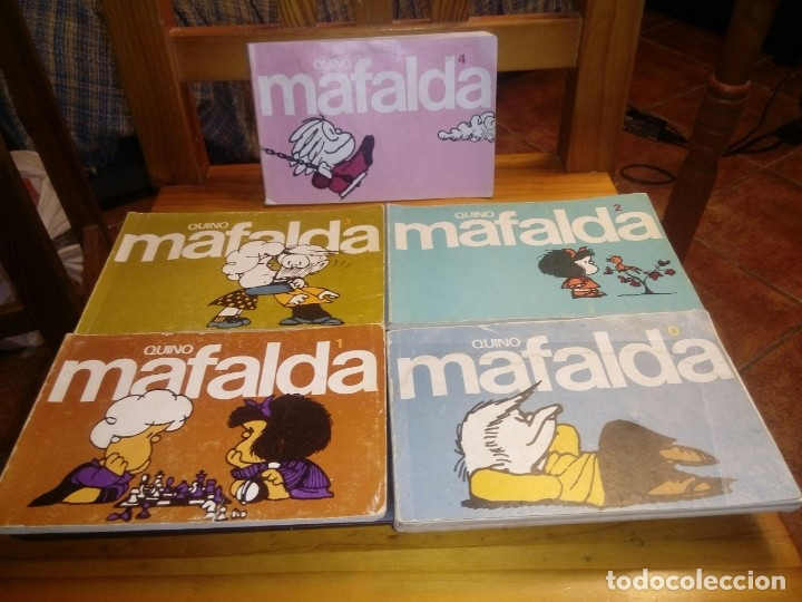LOTE COMPLETO CUADERNOS MAFALDA - QUINO -11 UD.- DEL NÚMERO 0 AL 10 (Libros Antiguos, Raros y Curiosos - Literatura Infantil y Juvenil - Otros)