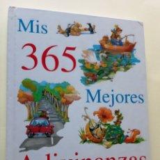 Libros antiguos: MIS 365 MEJORES ADIVINANZAS. Lote 182688740