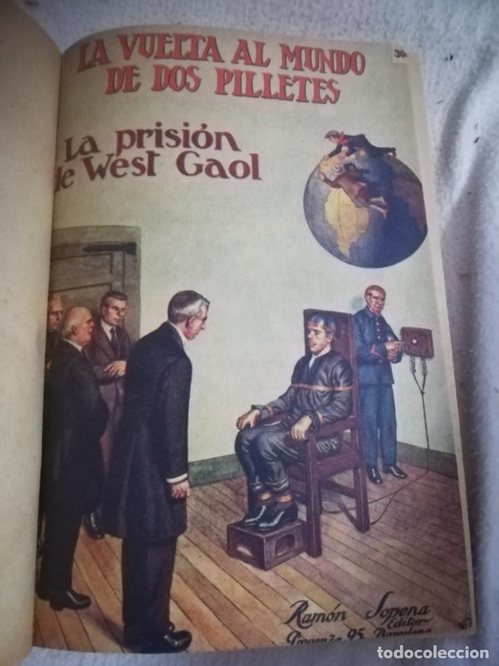 LA VUELTA AL MUNDO DE DOS PILLETES. DEL Nº 16 AL 31. VER PORTADAS ORIGINALES Y TITULOS. 18 X 25CM. (Libros antiguos (hasta 1936), raros y curiosos - Literatura - Narrativa - Otros)