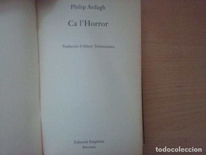 Libros antiguos: LA TRILOGIA DEDDIE DICKENS: CA LHORROR - PHILIP ARDAGH (EDITORIAL EMPÚRIES) - Foto 4 - 182807745