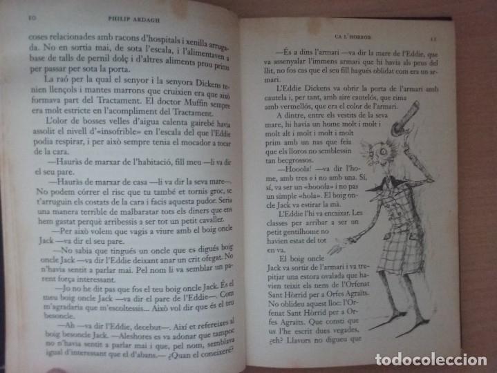 Libros antiguos: LA TRILOGIA DEDDIE DICKENS: CA LHORROR - PHILIP ARDAGH (EDITORIAL EMPÚRIES) - Foto 6 - 182807745