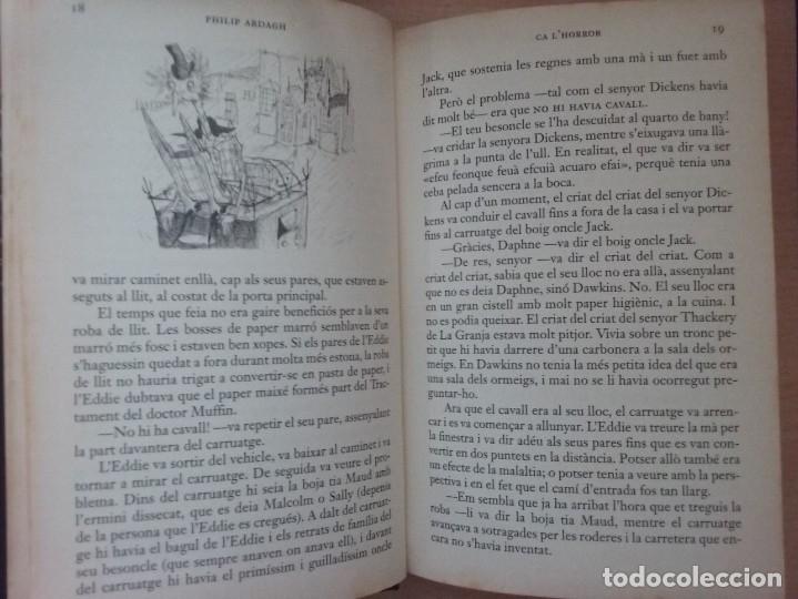 Libros antiguos: LA TRILOGIA DEDDIE DICKENS: CA LHORROR - PHILIP ARDAGH (EDITORIAL EMPÚRIES) - Foto 7 - 182807745