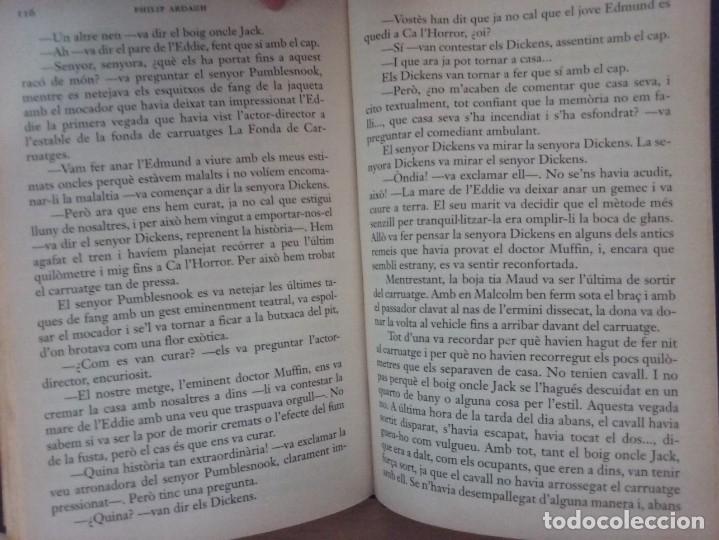 Libros antiguos: LA TRILOGIA DEDDIE DICKENS: CA LHORROR - PHILIP ARDAGH (EDITORIAL EMPÚRIES) - Foto 10 - 182807745