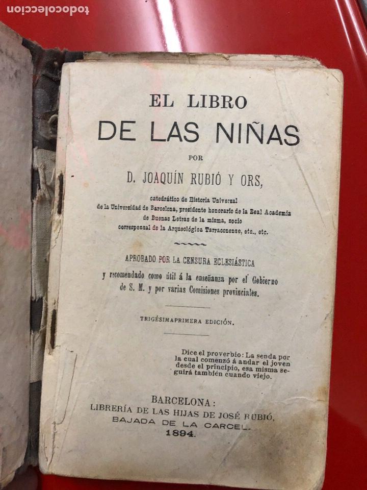 EL LIBRO DE LAS NIÑAS (Libros Antiguos, Raros y Curiosos - Literatura Infantil y Juvenil - Otros)
