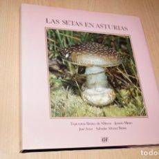Libros antiguos: LAS SETAS EN ASTURIAS. VVAA. Lote 182833966